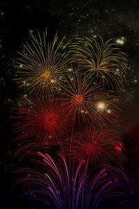 firework, artwork, digital art
